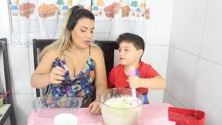 Receita fácil e gostosa para fazer com criança #SEMANADASCRIANÇAS | Kathy Castricini