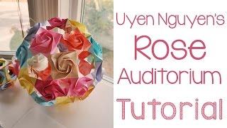 Origami Rose Auditorium Tutorial
