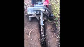 toro trx 15 trencher