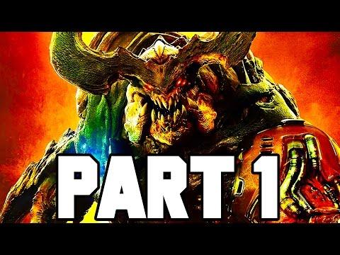 DOOM Gameplay Walkthrough Part 1 - Intro/Mission 1 - 2+ HOURS!! (Doom 4 PS4/X1/PC 1080p 60fps)