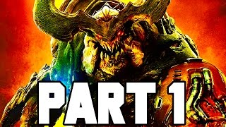 DOOM Gameplay Walkthrough Part 1 - Intro/Mission 1 - 2+ HOURS!! (Doom 4 PS4/X1/PC 1080p 60fps)