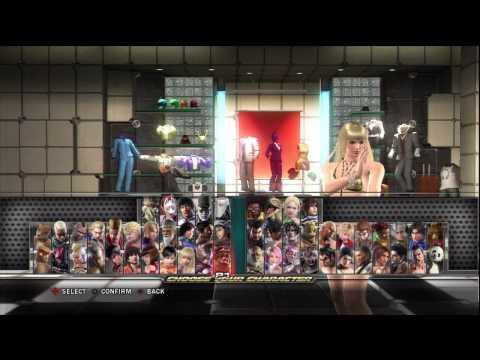 Tekken Tag Tournament 2 - Character Customization (AND BIKINIS!) PART 1