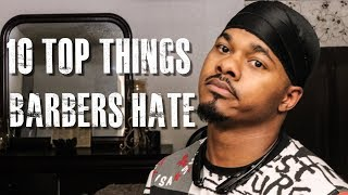 10 TOP THINGS BARBERS HATE REACTION