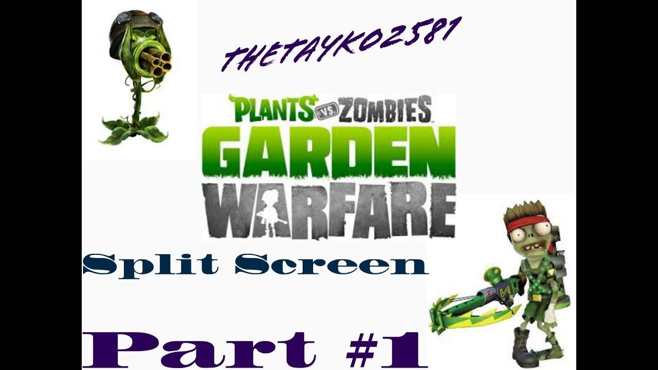 Plants Vs Zombies Garden Warfare Splitscreen 1 Youtube