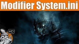 WINDOWS 10 - Modifier fichier system.ini - TUTO #01
