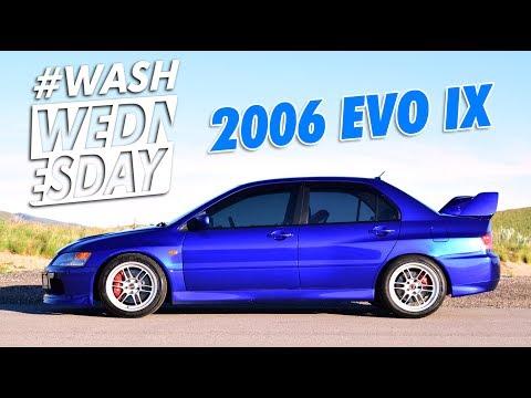 Jason's 2006 Mitsubishi Evo IX GSR | #WASHWEDNESDAY