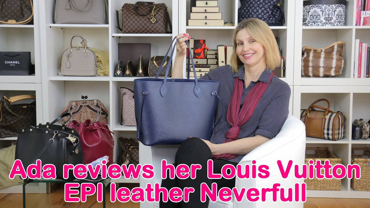 fa6aaf598cbe Ada discusses her Louis Vuitton EPI leather pieces - YouTube