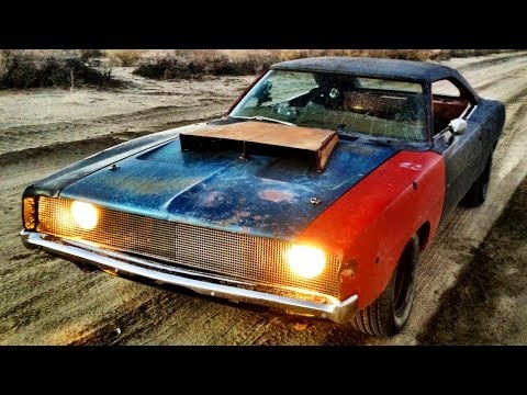 Dirt Cheap Rat Rod! 1968 Charger Buildup and Thrash  Roadkill Ep. 23