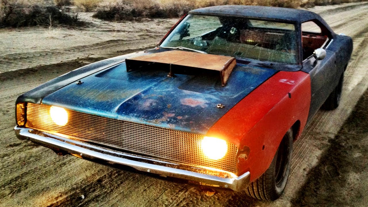 Dirt Cheap Rat Rod 1968 Charger Buildup And Thrash