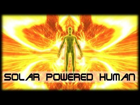 ** SUN GAZING ** Solar Powered Human
