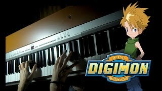 Gambar cover Digimon - Run with the Wind (Piano & Backingtrack)