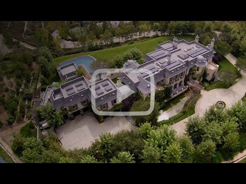 SkyCam Video: Dr. Dre House in Brentwood California