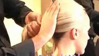 прическа ракушка видео