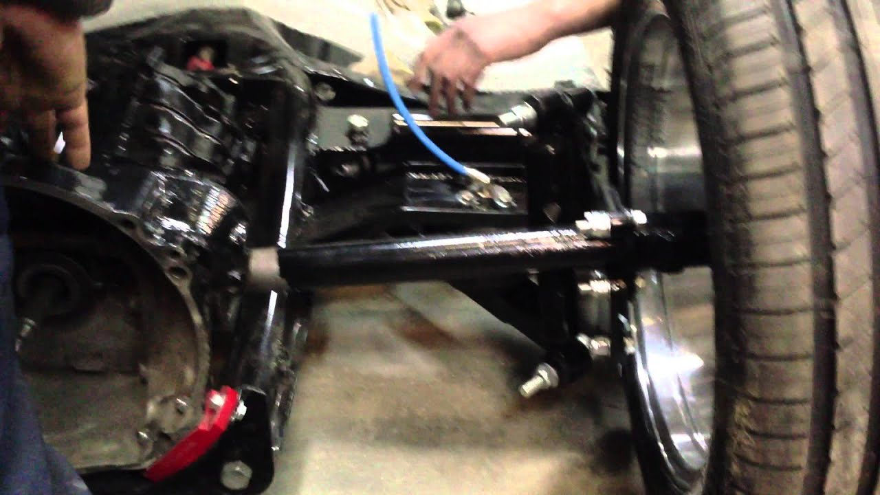 Air Ride Suspension Chassis Vw Kafer Youtube