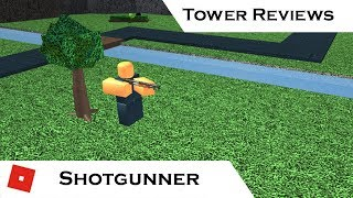 Shotgunner | Tower Reviews | Tower Battles [ROBLOX]