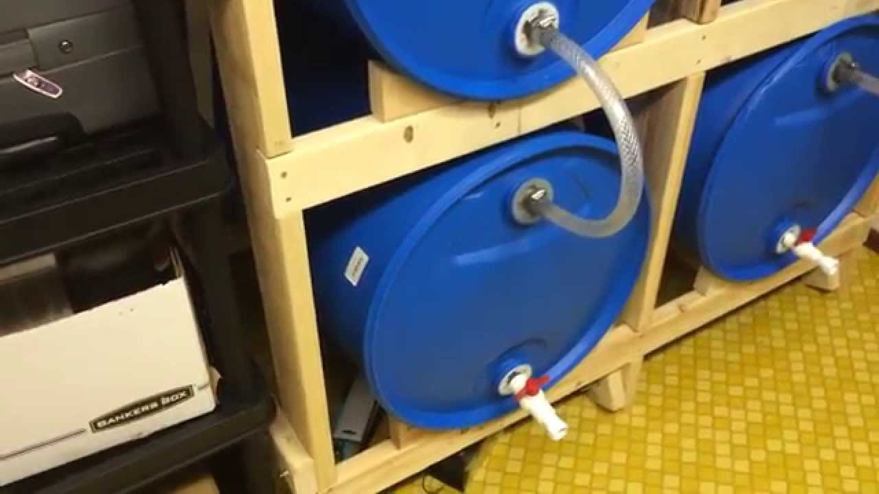 55 Gallon Water Storage Part 4 Adding More Barrels YouTube