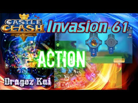 Invasion 61 Gameplay & Insane Troops? - Castle Clash New Dawn