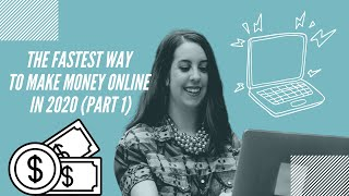 The fastest way to make money online in 2020 part 1 (proven strategy!) #onlinebusiness