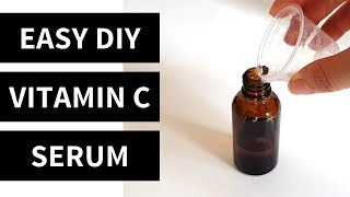 Easy (5 Minute) DIY Vitamin C Serum | Lab Muffin Beauty Science