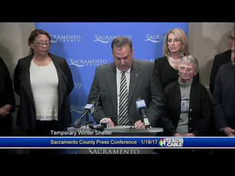Sacramento County Press Conference   January 19, 2017