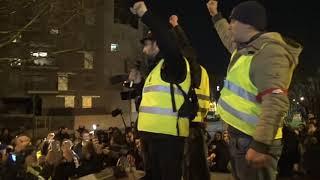 Gilets jaunes : marche blanche pour Sébastien Maillet (13 février 2019, Argenteuil, France)