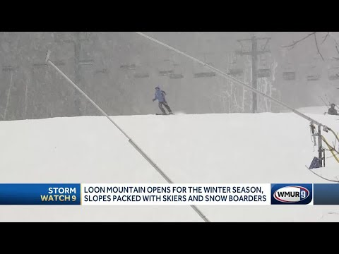 Fresh Snow Helps NH Ski Areas Open