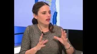 Ayelet Shaked interview English  (Israeli female politician right wing nationalist jewish home)