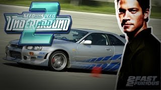 "O'Conner Need For Speed Underground 2 ""Paul Walker"""