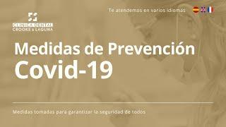 ¡Tu seguridad, es la seguridad de todos! - Medidas de prevención - Covid-19!