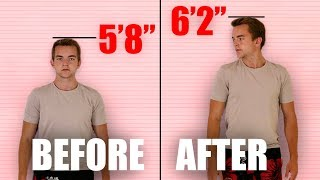 You CAN Actually Grow Taller ! (New Scientific Method) thumbnail
