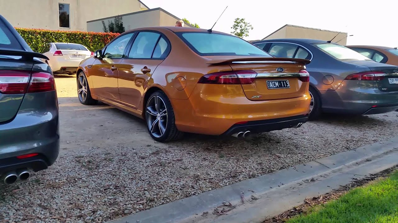 ford falcon media launch fgx xr8 sound youtube. Black Bedroom Furniture Sets. Home Design Ideas
