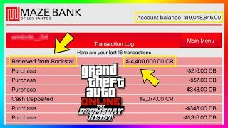 Rockstar Giving Out MILLIONS Of Dollars In FREE Money To Players In GTA Online! (Doomsday Heist DLC)