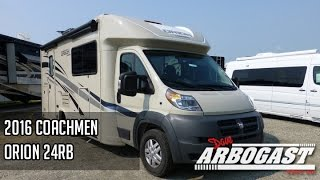 2016 Coachmen Orion 24RB Class C Motorhome | Dave Arbogast RV Depot