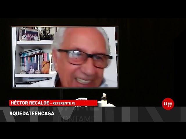 CONTAME #DesdeCasa - Héctor Recalde