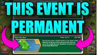 OMG 😱 DONATION EVENT IS PERMANENT!! | NEW UPDATE | CLASH OF CLANS
