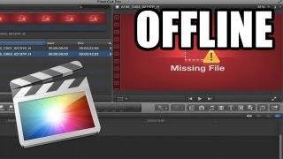 Final Cut Pro X - #35: Archivos Offline