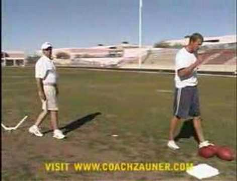 Coach Zauner - Kicking Lessons with Mike Vanderjagt