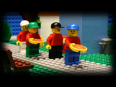 Lego Pizza Delivery 6