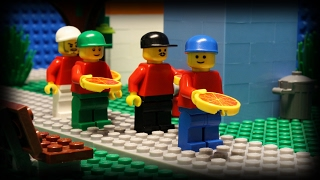 Lego Pizza Delivery 6(In the crazy sixth episode of the series, our pizza delivery man needs some help. Will our friend ever have a successful delivery? Music provided by Charles ..., 2015-09-12T14:16:19.000Z)