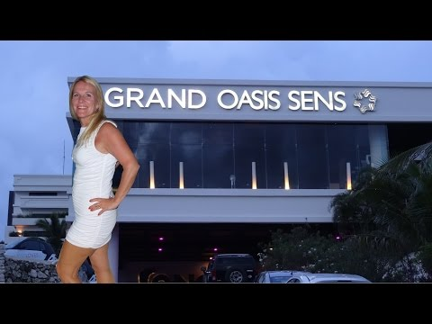 Grand Oasis Sens, Cancun, Mexico, full tour in 4 minutes, HD