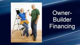 Owner-Builder Home Construction Financing for Pacific Modern Homes, Inc.