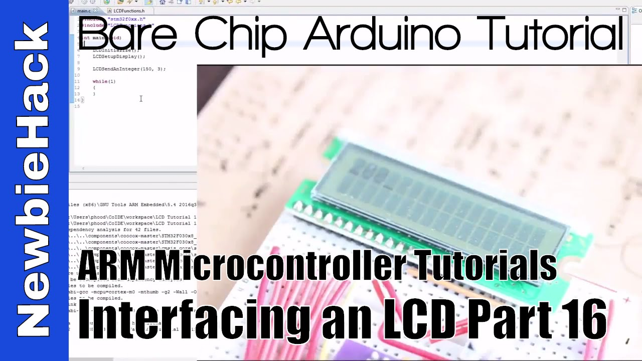 29  How to Display Inegers on an LCD with ARM STM32 Microcontroller  Tutorial - Part 16