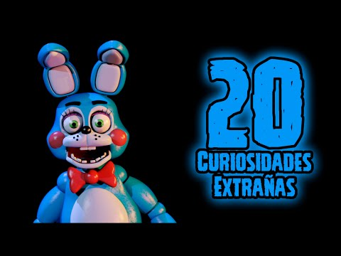 TOP 20: Las 20 Curiosidades Extrañas De Toy Bonnie De Five Nights At Freddy's | fnaf 2
