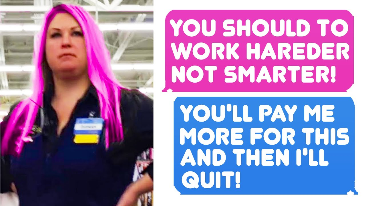Bank Department Manager Wants Me to Work Harder Not Smarter. I Quit - r/MaliciousCompliance