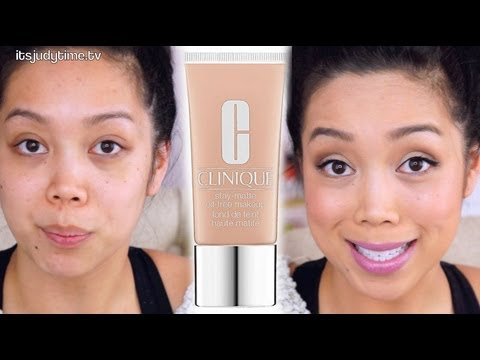 OILY SKIN? Clinique Stay Matte Foundation first impression review - itsjudytime