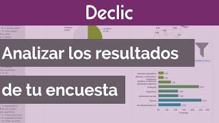 Análisis estadístico de los resultados de tu encuesta con Declic
