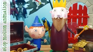 Ben & Holly King Thistle's New Ship With Lot of Treasure