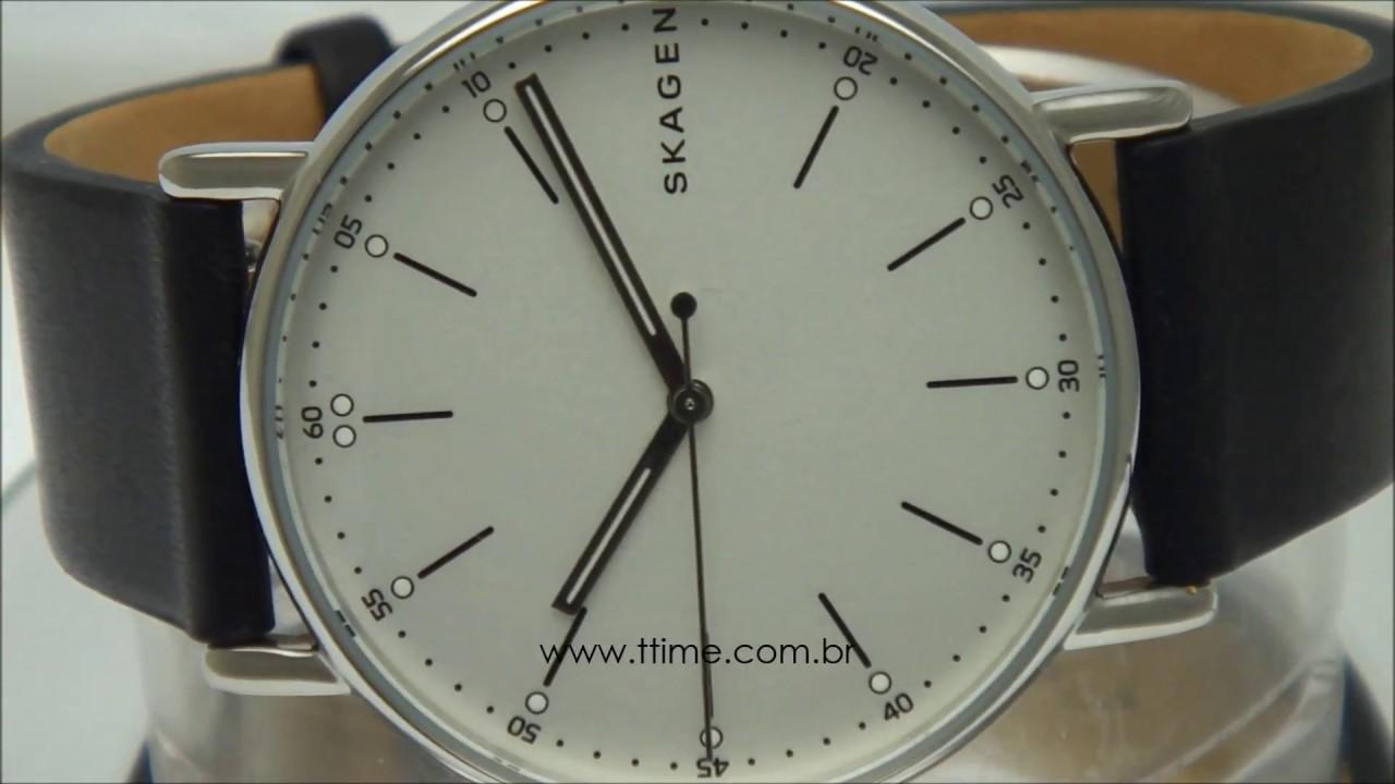 Relógio Skagen Signatur SKW6353 2BN - YouTube 0a4bc2d4db