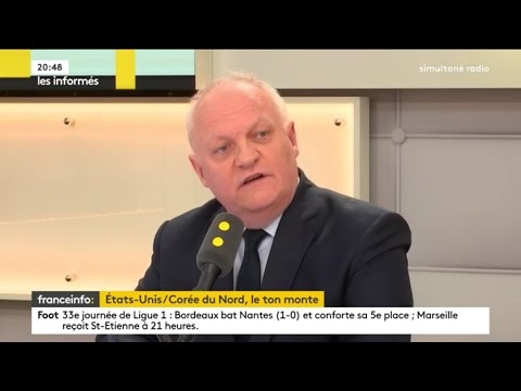 François Asselineau - France Info - 16 avril 2017