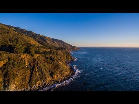 18 Minutes of Stunning 4K Aerial Footage: Big Sur, CA